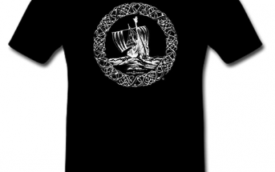Camiseta Viking Ship M-XXL